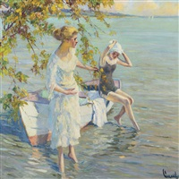 am badeplatz by edward cucuel