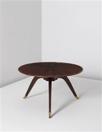 bas-ducharne' table, model no. 1044ar/1164nr by émile jacques ruhlmann