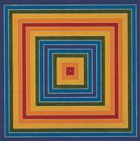 "frank stella ""gran cairo"" 1962 by richard pettibone"