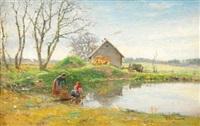 washing day by ivan pavlovich pokhitonov