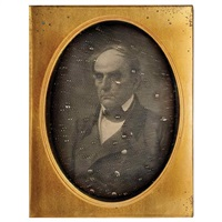 portrait of senator daniel webster by mathew b. brady
