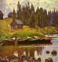 les barques by nikolai galakhov