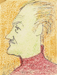 self portrait by milton avery