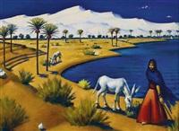 marsa matrouh - vers le bain de cléopâtre by mahmoud said