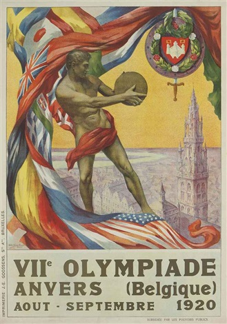 viie olympiade anvers 1920 by walter van der ven and martha van kuyck
