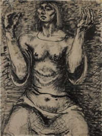supplicating woman by lyndon raymond dadswell