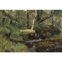 forest interior by william brymner