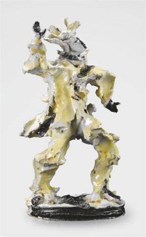 arlecchino by lucio fontana