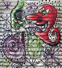 gate, nyc, completed november by kenny scharf