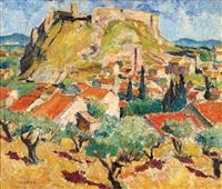 paysage d'avignon by maria-mela muter