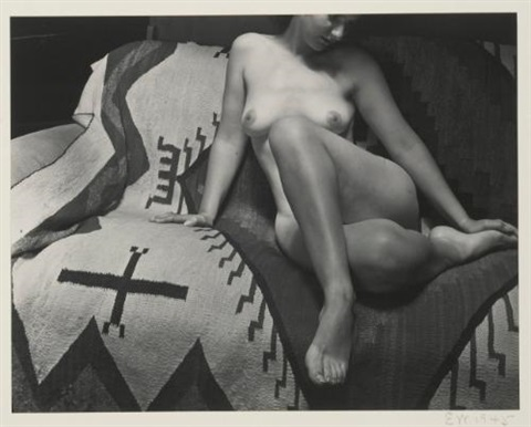 nude study of ruth marion baruch by edward weston