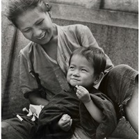 mother and child, ginza by eikoh hosoe
