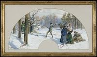 duel after masquerade by woiciech (aldabert) ritter von kossak