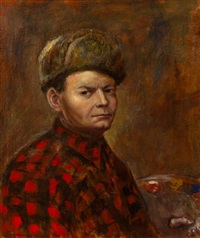 self portrait by john steuart curry