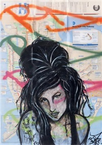 amy winehouse by rd 357