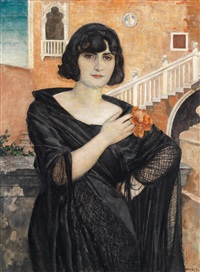 portrait: dal ongaro by ernst heilemann
