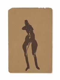 weibliche figur (female figure) by joseph beuys