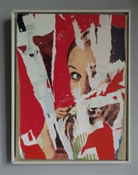 le regard by mimmo rotella