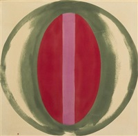 cat's eye by kenneth noland