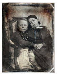 portrait d'enfants by gustave le gray and auguste mestral