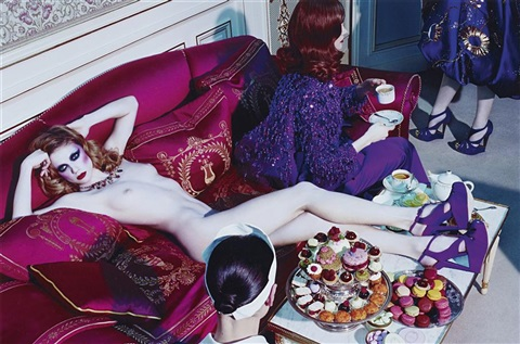 a dazzling beauty 4 vogue italia by miles aldridge