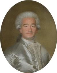 portrait d'homme en buste by joseph boze