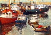 summer, balbriggan harbor by alex mckenna