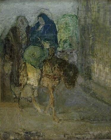 flight into egypt by henry ossawa tanner