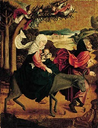 the flight into egypt by austrian school-salzburg (15)