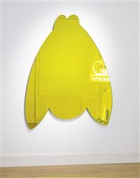 donkey (yellow) by jeff koons