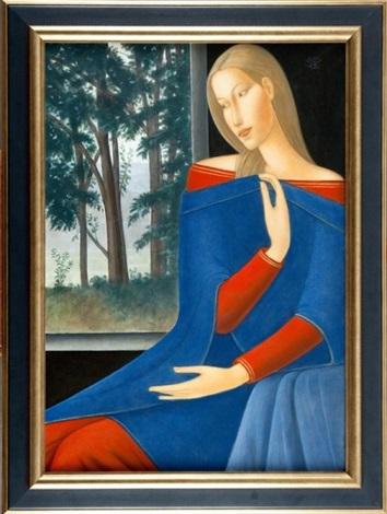 portret kobiety by roman zakrzewski