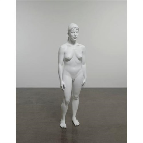 aluminum girl by charles ray