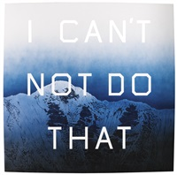 i can't not do that by ed ruscha