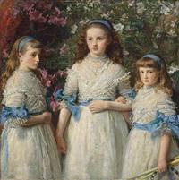 sisters by sir john everett millais