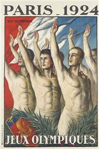 paris 1924, jeux olympiques by jean droit