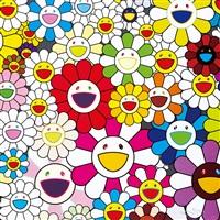 such cute flowers by takashi murakami