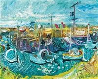 fisherman's inlet, tooradin by john de burgh perceval