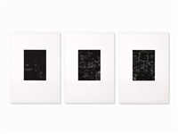tafel i-iii (3 works) by joseph beuys