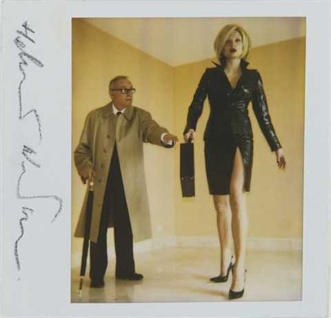 rachel williams and buck henry, american vogue by helmut newton