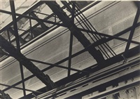 abstraction - brooklyn bridge by walker evans