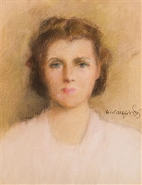 portret zofii kozak by alfons karpinski