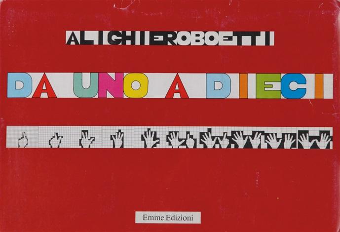 da uno a dieci portfolio of 20 by alighiero boetti
