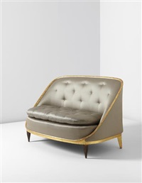 rothermére' sofa, model no. 34ar/402nr, from the grand salon of the françois ducharne residence, paris by émile jacques ruhlmann