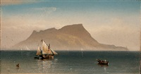 morning at gibraltar by charles temple dix