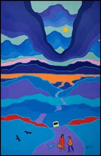 welcome home by ted harrison