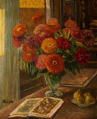 flower still life by alois bilek