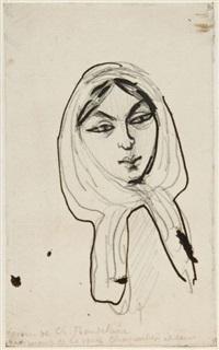 portrait de jeanne duval by charles baudelaire