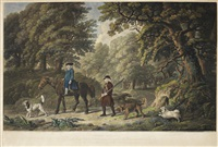 labourers & game keepers (pair) by george stubbs
