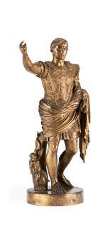 figure of caesar augustus by benedetto boschetti