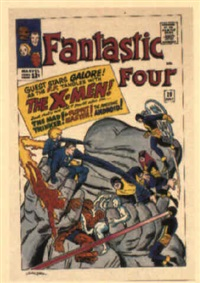 fantastic four no.28 by dick ayers
